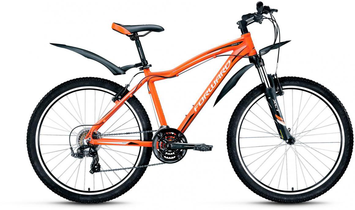 Велосипед горный Forward Hesper 1.0 2017, цвет: оранжевый, рама 19, колесо 26279924