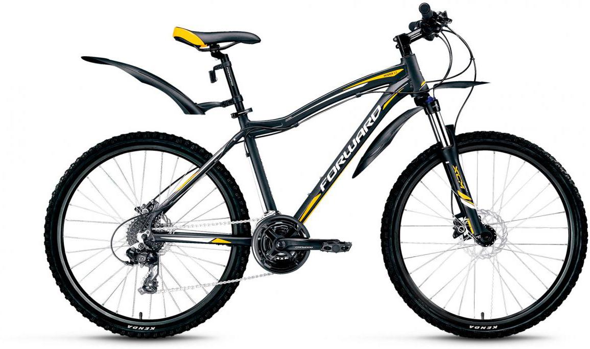 Велосипед горный Forward Hesper 3.0 2017, цвет: черный, рама 17, колесо 26279933
