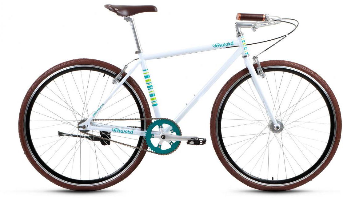 Велосипед городской Forward Indie Folk 1.0 2017, цвет: белый, рама 18, колесо 28279935