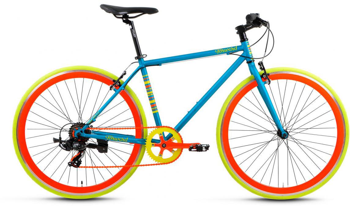 Велосипед городской Forward Indie Jam 2.0 2017, цвет: синий, рама 18, колесо 28279938