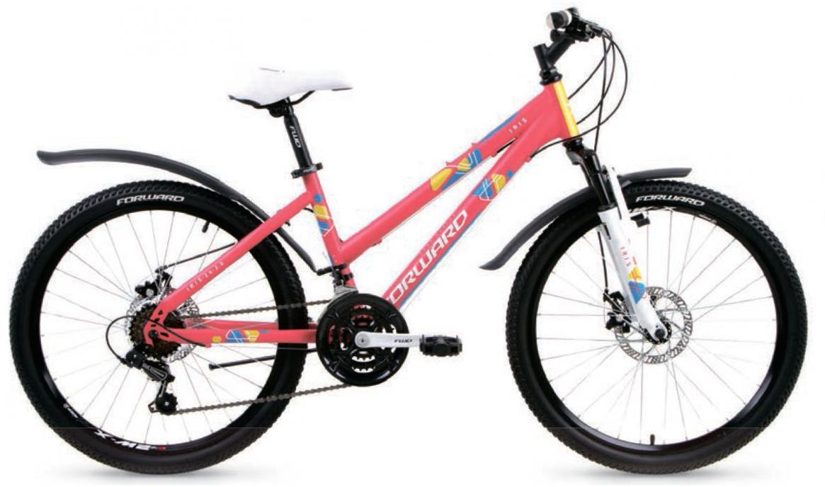 Велосипед детский Forward Iris 24 2017, цвет: розовый, рама 15, колесо 24279944