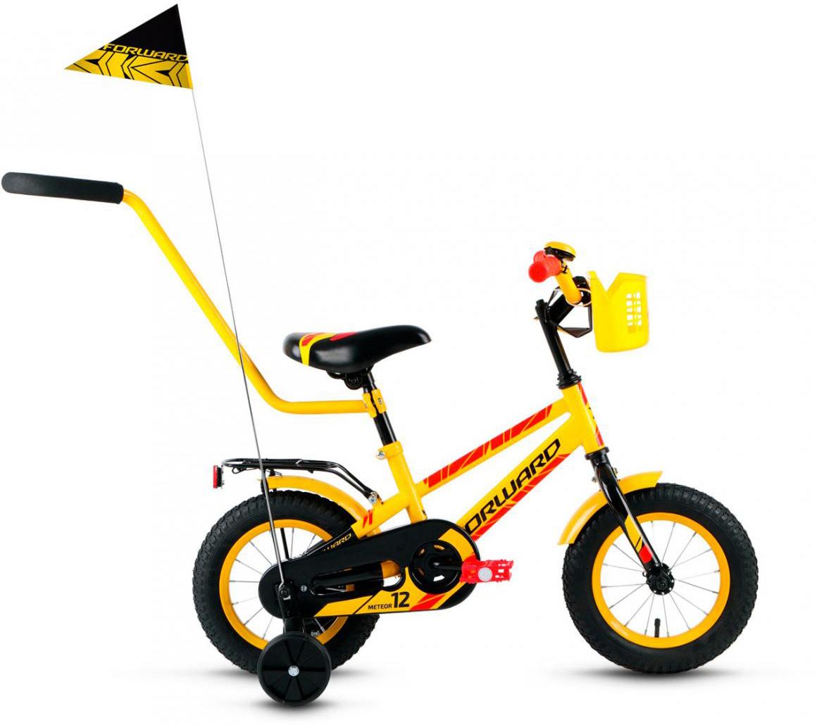 Велосипед детский Forward Meteor 2017, цвет: желтый, колесо 12279964