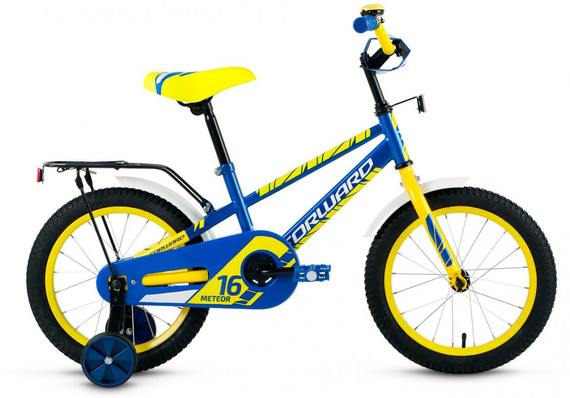 Велосипед детский Forward Meteor 2017, цвет: синий, колесо 16279967