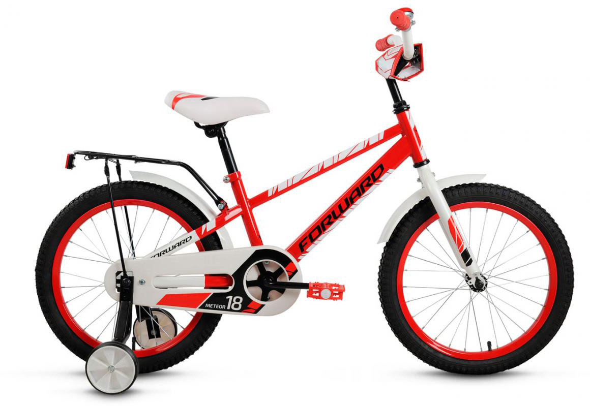 Велосипед детский Forward Meteor 2017, цвет: красный, колесо 18279969