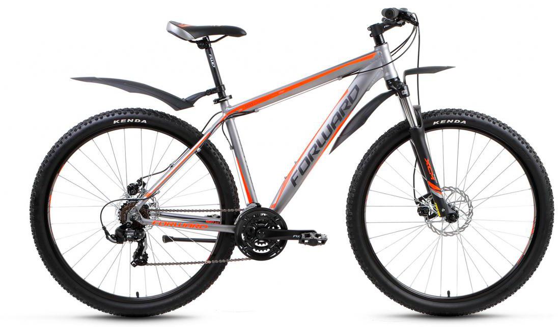 Велосипед горный Forward Next 2.0 2017, цвет: серый, рама 19, колесо 29279978