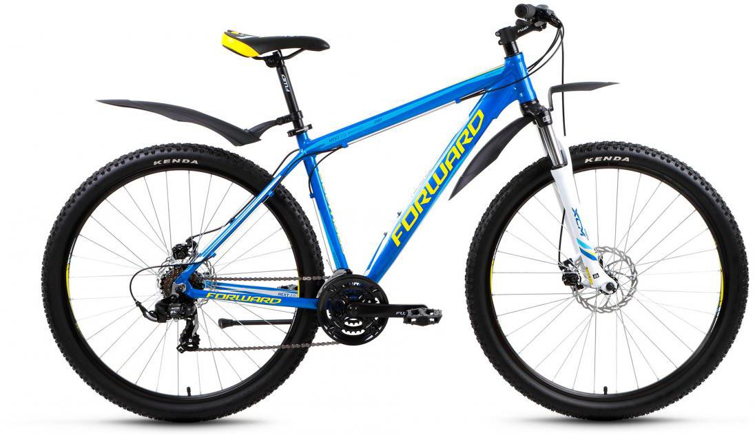 Велосипед горный Forward Next 2.0 2017, цвет: синий, рама 19, колесо 29279981