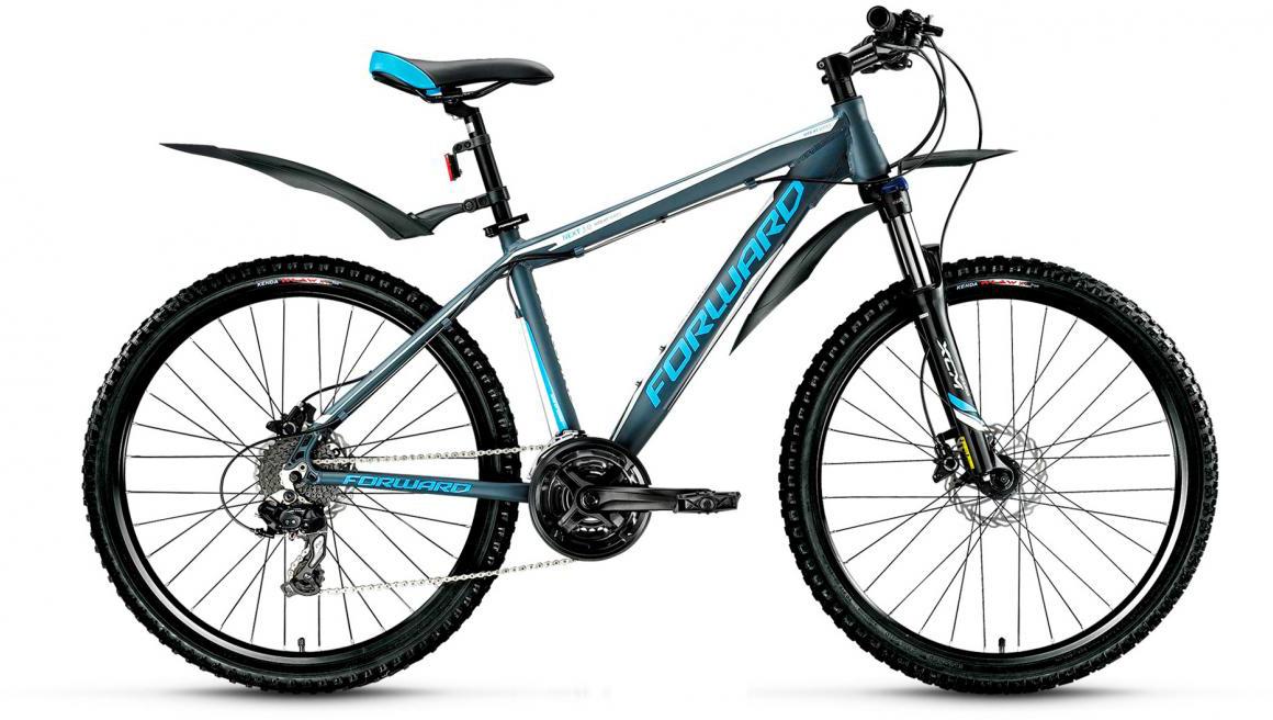 Велосипед горный Forward Next 3.0 2017, цвет: серый, рама 18,5, колесо 26279992