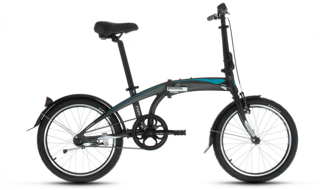 Велосипед детский Forward Omega 1.0 2017, цвет: черный, рама 11, колесо 20279994