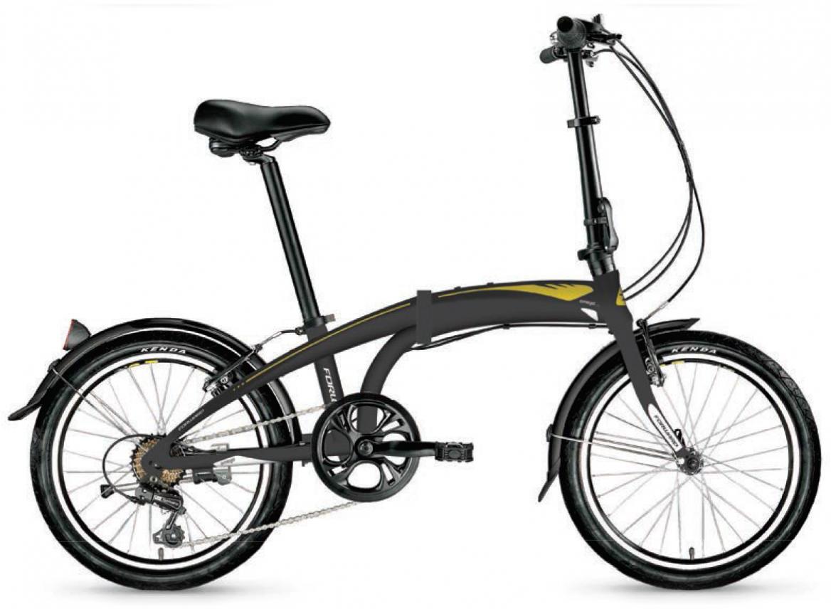 Велосипед детский Forward Omega 2.0 2017, цвет: черный, рама 11, колесо 20279995