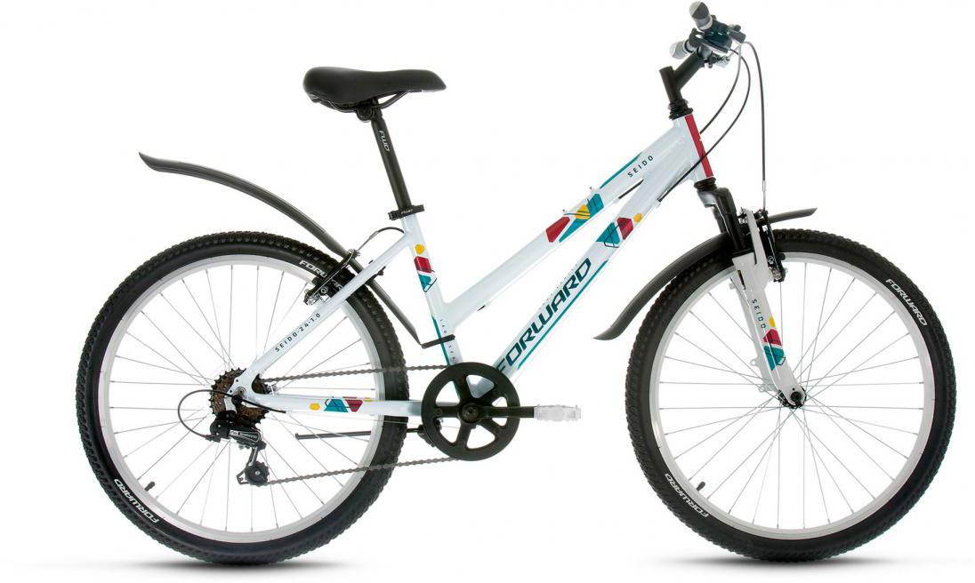 Велосипед детский Forward Seido 1.0 2017, цвет: синий, рама 15, колесо 24280046