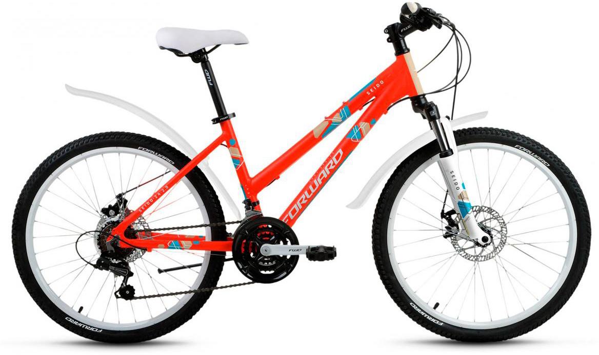 Велосипед детский Forward Seido 2.0 2017, цвет: красный, рама 15, колесо 24280049