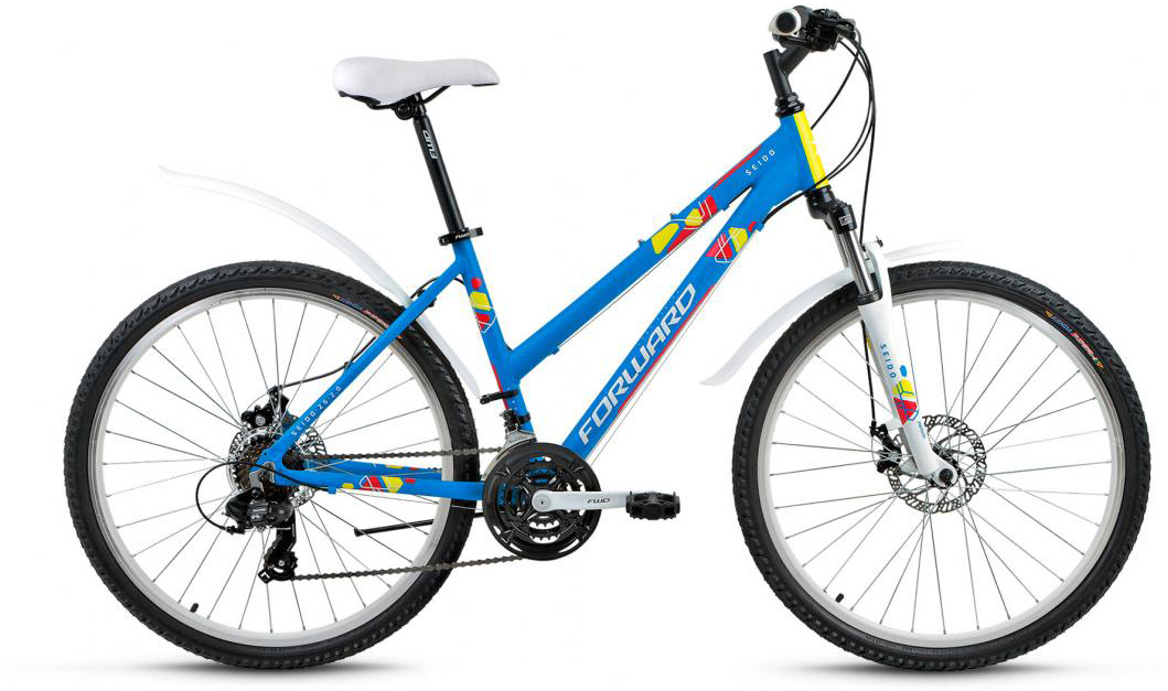 Велосипед горный Forward Seido 2.0 2017, цвет: синий, рама 17, колесо 26280055