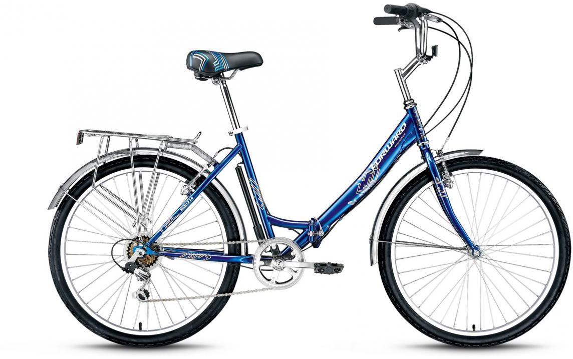 Велосипед складной Forward Sevilla 2.0 2017, цвет: синий, рама 18,5, колесо 26280061