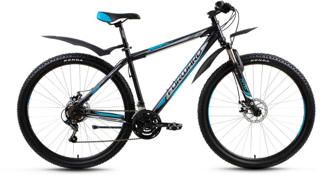 Велосипед горный Forward Sporting 2.0 2017, цвет: черный, рама 19, колесо 29280071