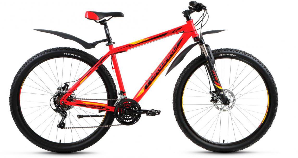 Велосипед горный Forward Sporting 2.0 2017, цвет: красный, рама 17, колесо 29280073