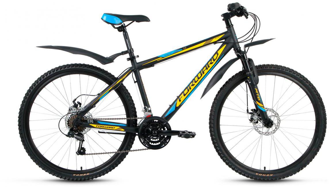 Велосипед горный Forward Sporting 2.0 2017, цвет: черный, рама 17, колесо 26280077