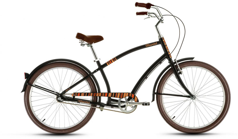 Велосипед городской Forward Surf 2.0 2017, цвет: черный, рама 17, колесо 26280083