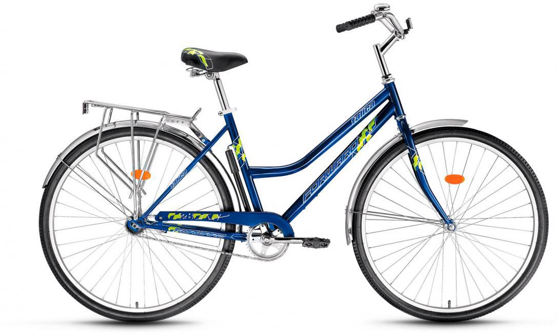 Велосипед городской Forward Talica 1.0 2017, цвет: синий, рама 19, колесо 26280087