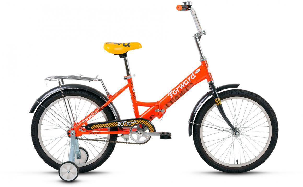 Велосипед детский Forward Timba Boy 2017, цвет: оранжевый, рама 13, колесо 20280099