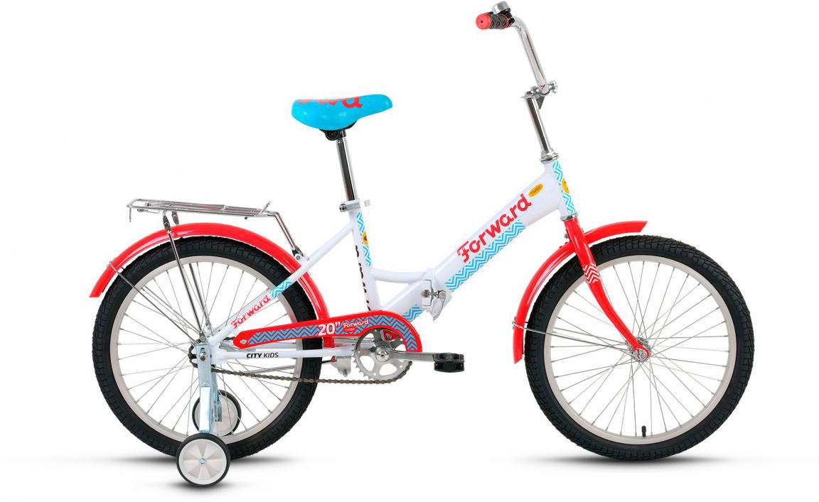 Велосипед детский Forward Timba Girl 2017, цвет: белый, рама 13, колесо 20280101