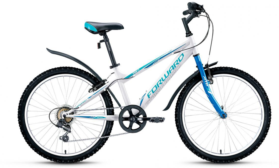 Велосипед детский Forward Titan 1.0 2017, цвет: белый, рама 14, колесо 24280103