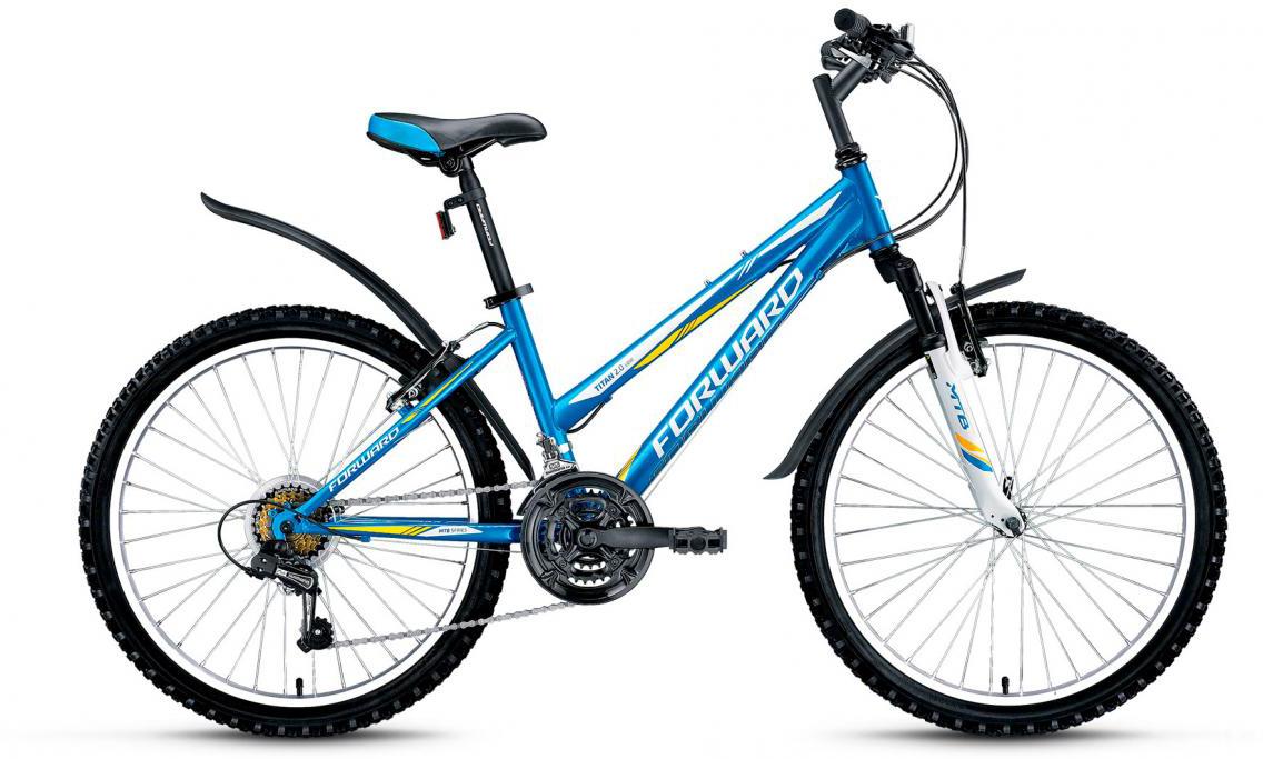 Велосипед детский Forward Titan 2.0 Low 2017, цвет: синий, рама 14, колесо 24280106