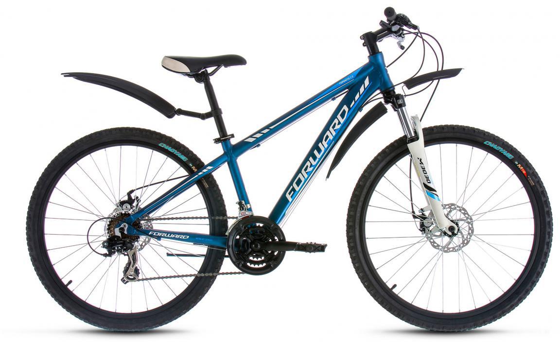 Велосипед горный Forward Toronto 2.0 2017, цвет: синий, рама 14, колесо 26280112