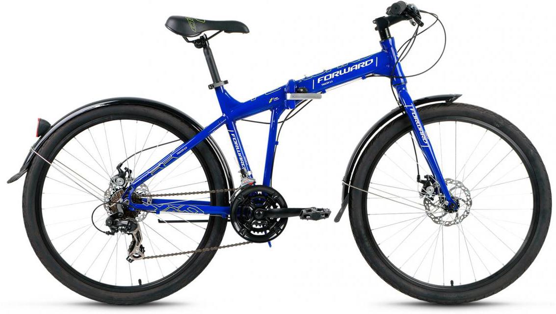 Велосипед складной Forward Tracer 2.0 2017, цвет: синий, рама 17, колесо 26280118