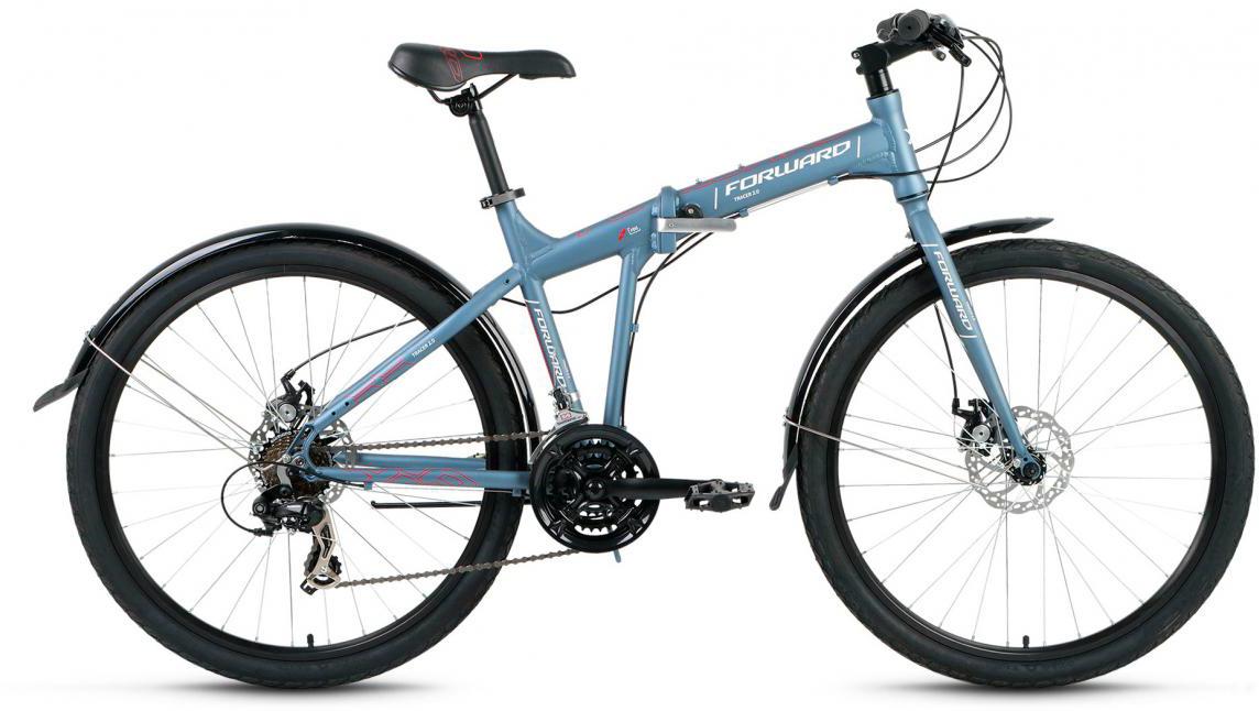 Велосипед складной Forward Tracer 2.0 2017, цвет: серый, рама 19, колесо 26280121