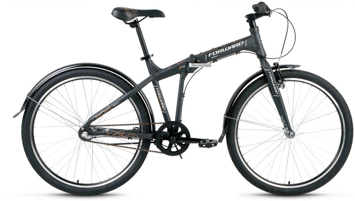 Велосипед складной Forward Tracer 3.0 2017, цвет: серый, рама 19, колесо 26280123