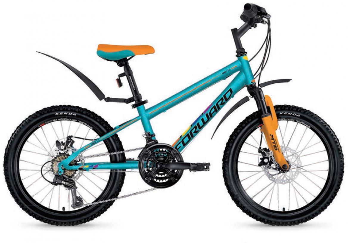 Велосипед детский Forward Unit 3.0 2017, цвет: синий, рама 10,5, колесо 20280133