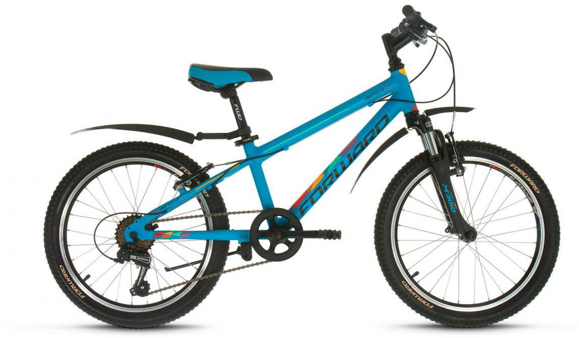 Велосипед детский Forward Unit Pro 2.0 2017, цвет: голубой, рама 10,5, колесо 20280136