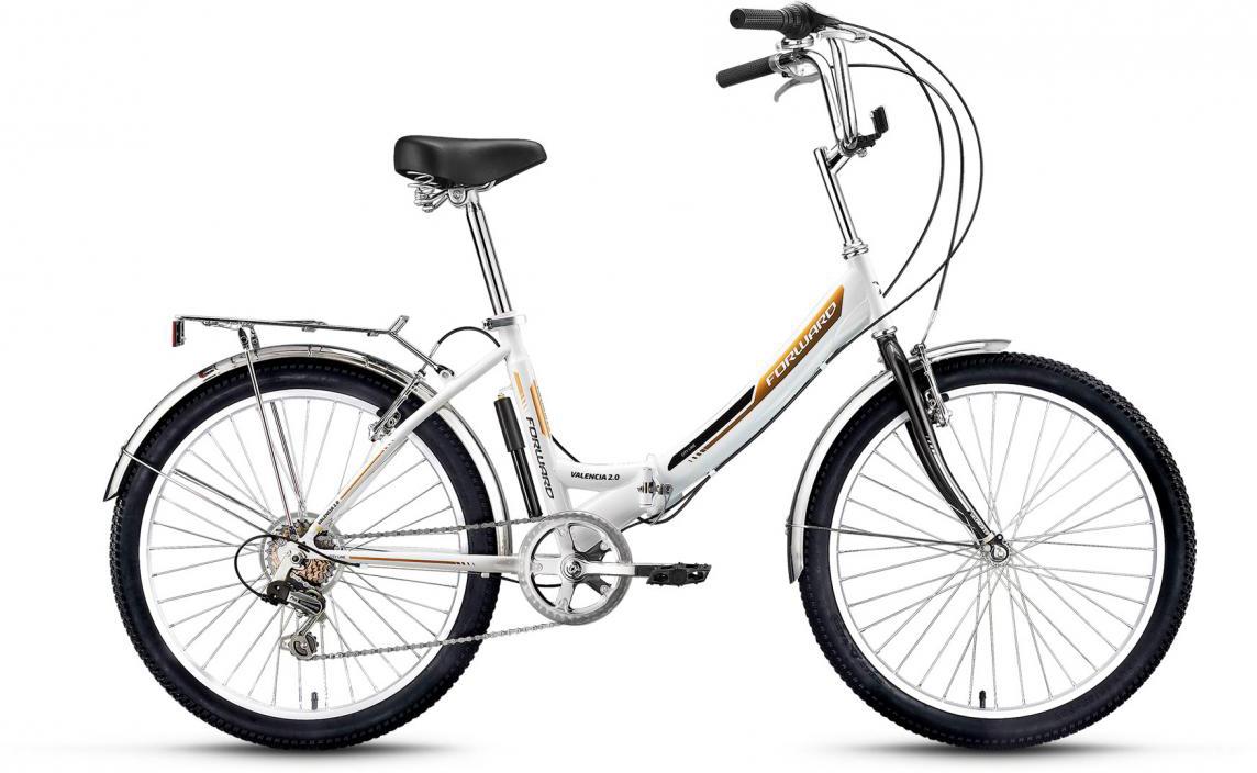 Велосипед детский Forward Valencia 2.0 2017, цвет: белый, рама 16, колесо 24280142