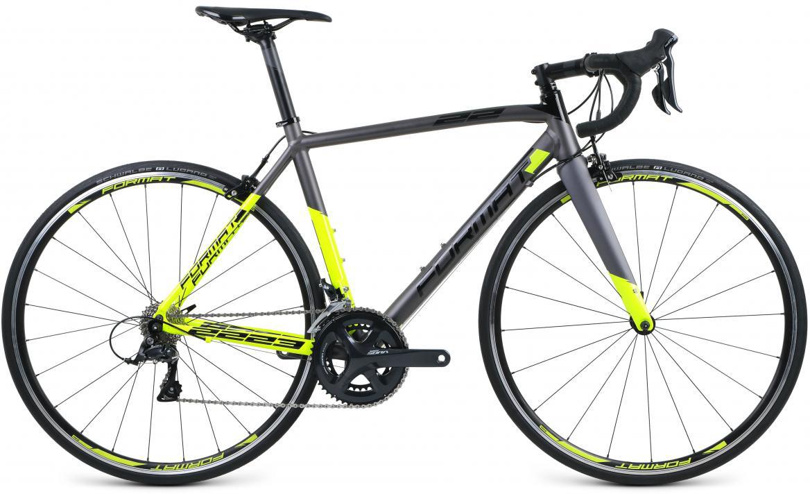 Велосипед шоссейный Format 2223 (2017), цвет: серый, рама 19,5, колесо 28280156