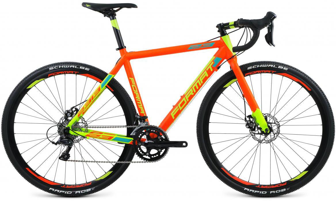 Велосипед шоссейный Format 2313 (2017), цвет: оранжевый, рама 23,5, колесо 28280167