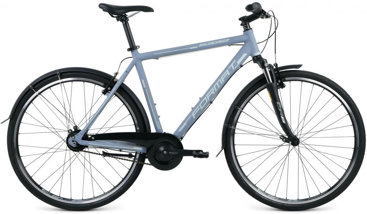Велосипед городской Format 5332 (2017), цвет: серый, рама 21,5, колесо 28280172