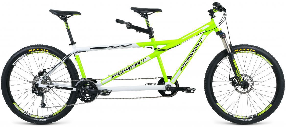 Велосипед горный Format 5352 (2017), цвет: зеленый, колесо 27,5280174