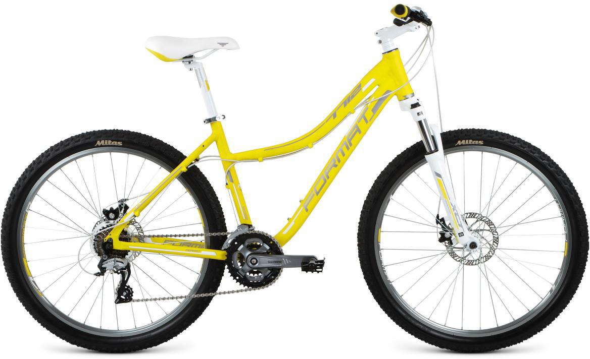 Велосипед горный Format 7712 (2017), цвет: желтый, рама 16, колесо 26280177