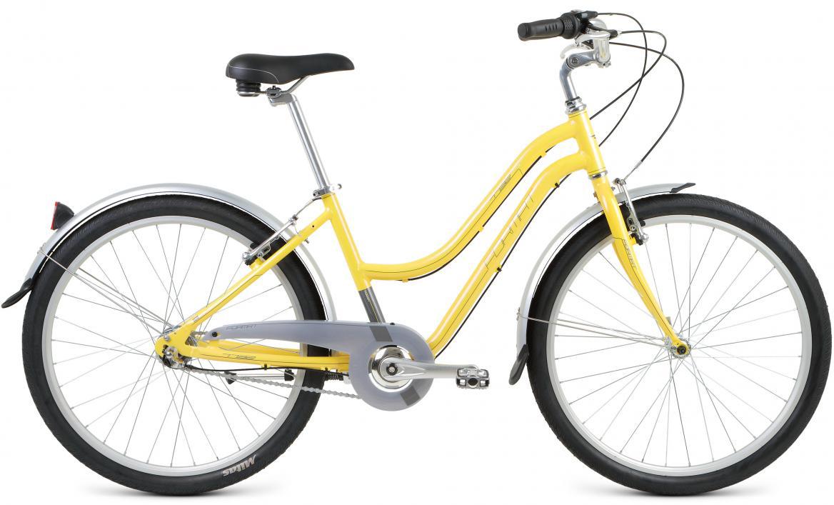 Велосипед городской Format 7732 (2017), цвет: желтый, колесо 26280836