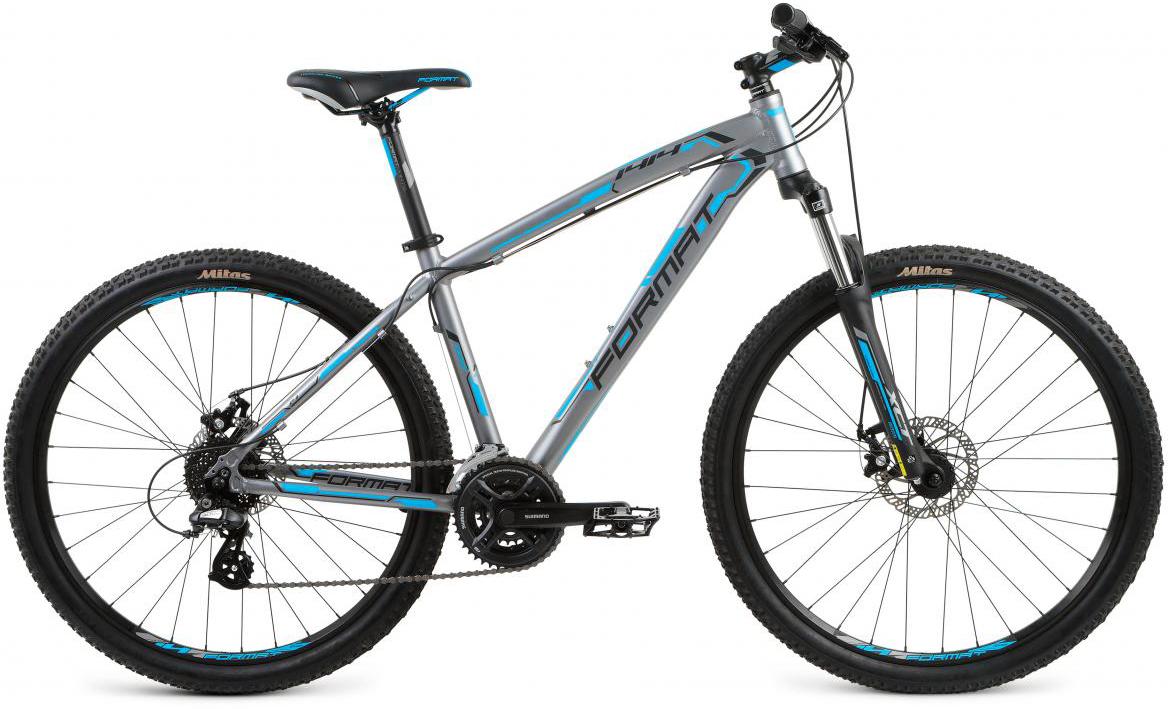 Велосипед горный Format 1414 (2017), цвет: серый, рама 18, колесо 27,5280839