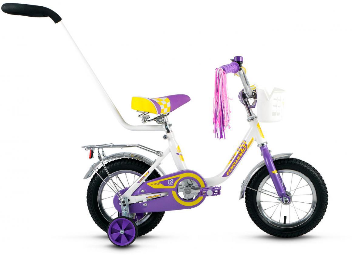 Велосипед детский Forward Racing Girl 2016, цвет: белый, колесо 12283027