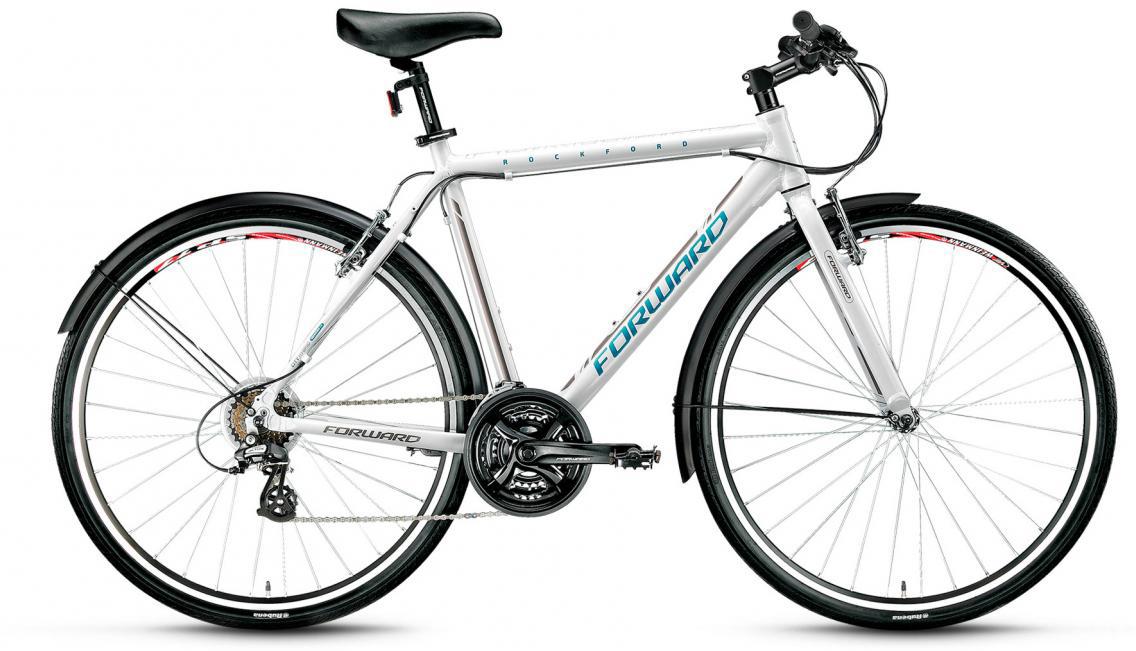 Велосипед городской Forward Rockford 1.0 2017, цвет: белый, рама 19,5, колесо 28283029