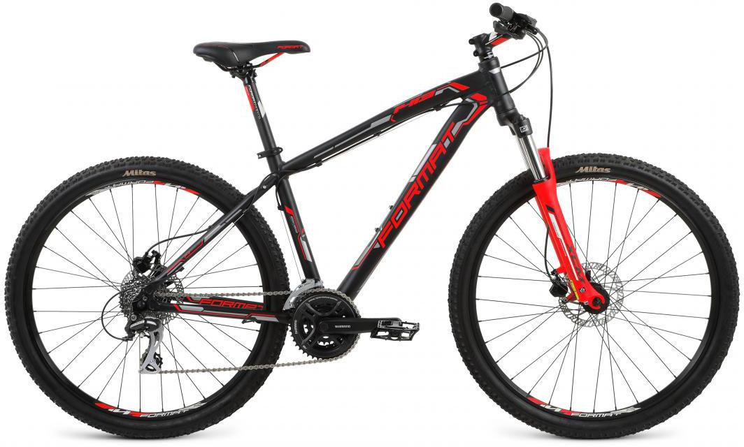 Велосипед горный Format 1413 (2017), цвет: черный, рама 20, колесо 27,5283353