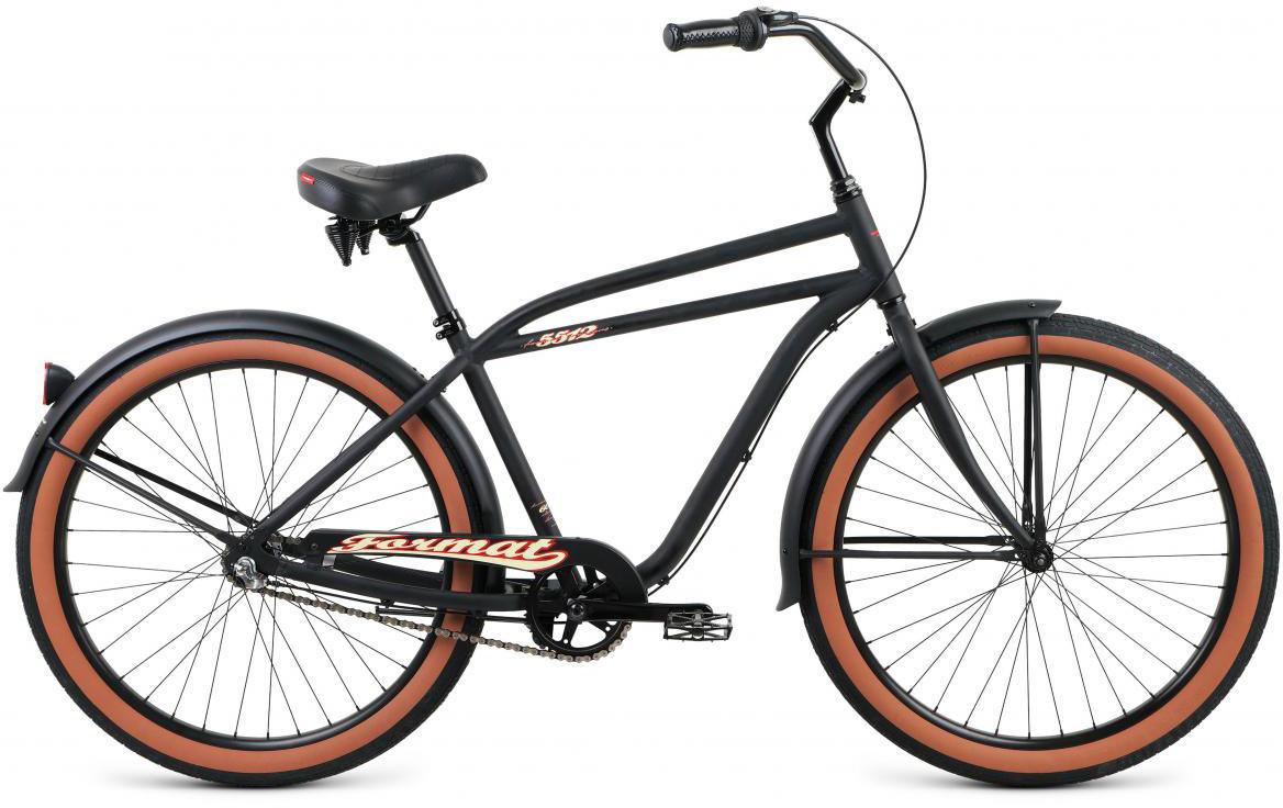 Велосипед городской Format 5512 (2017), цвет: черный, колесо 26 велосипед format 5512 2016