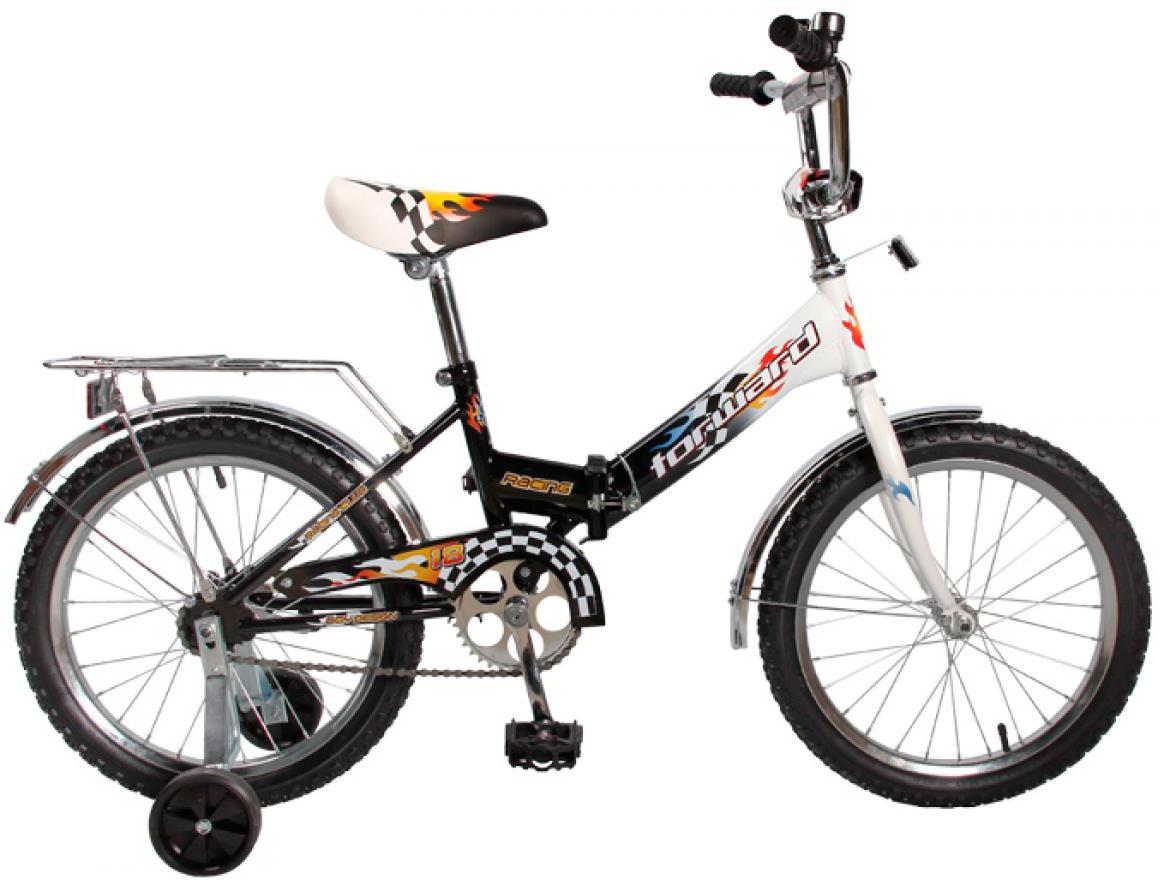 Велосипед детский Forward Racing Boy Compact 2017, цвет: черный, колесо 18283535