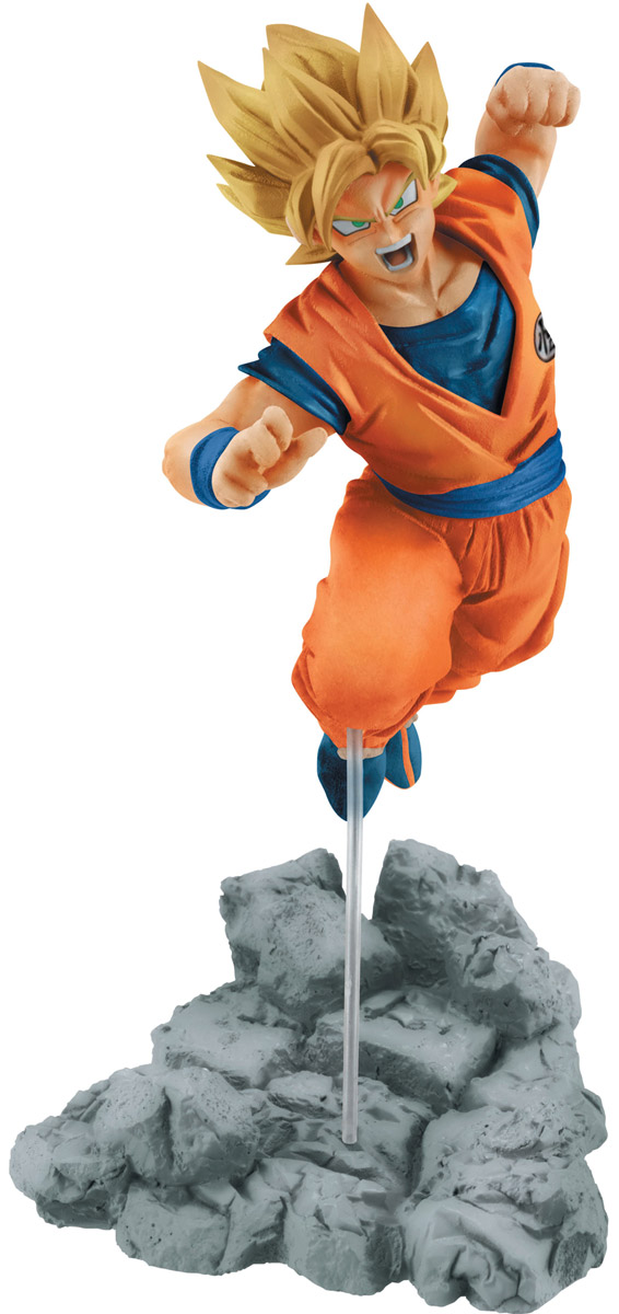 Bandai Фигурка Dball Sup Soul X Soul Fig Son Goku 10 см anime dragon ball z original bandai tamashii nations figuarts zero ex exclusive collection figure super saiyan 3 son goku