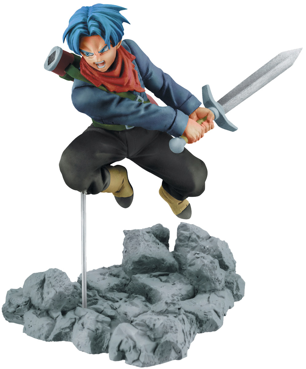 Bandai Фигурка Dball Sup Soul X Soul Fig Trunks 8 см bandai hobby 03 hgbf gundam x maoh model kit 1 144 scale