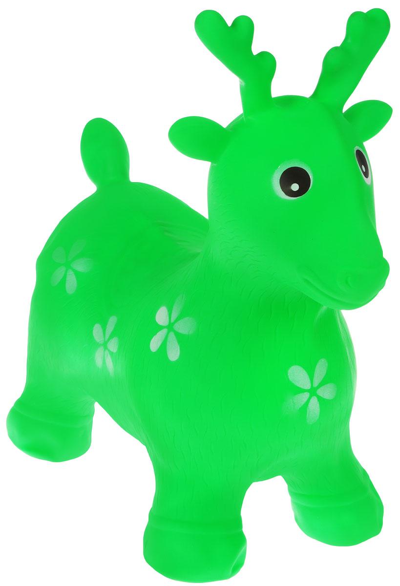 Altacto Игрушка-попрыгун Пятнистый олень цвет зеленый - Игры на открытом воздухе