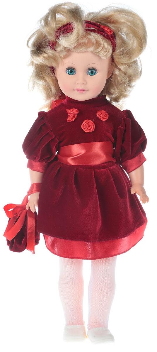 Весна Кукла озвученная Людмила 9 цвет одежды бордовый аксессуар ручки ножки 3d 51x21x3 9 ro3z
