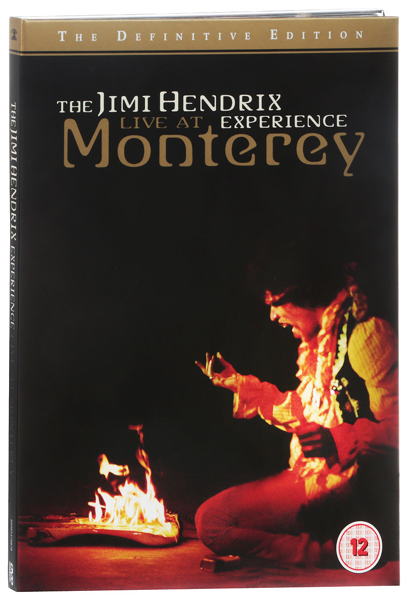 Jimi Hendrix Experience: Live At Monterey (The Definitive Edition) jimi hendrix jimi hendrix live at berkeley 2 lp